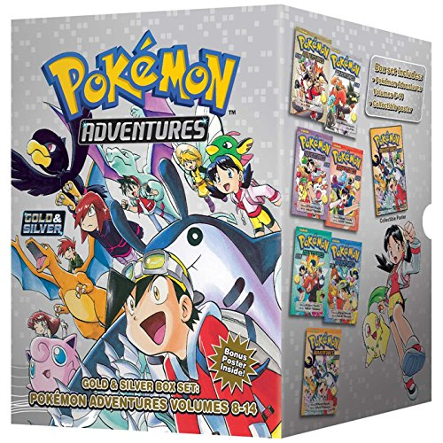 - Pokémon Adventures Gold & Silver Box Set (set includes Vol. 8-14) (Pokemon)