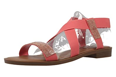 Lynn - Damen Sandalen - Schwarz Schuhe in Übergrößen, Größe:44 Fitters Footwear