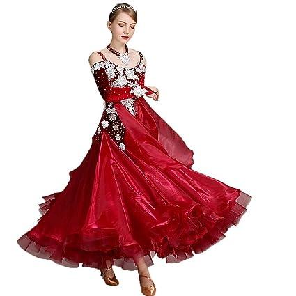 JTSYUXN Traje De Baile Moderno para Mujer Vestidos De Salón ...