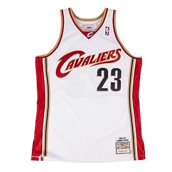 2fdc5e031098 Mitchell   Ness Cleveland Cavaliers 23 Lebron James Swingman Retro Trikot  Jersey (S