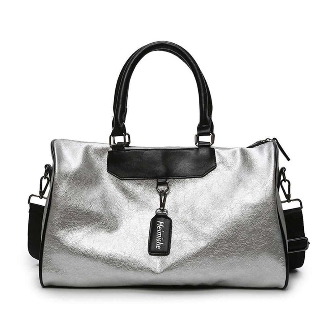 Amazon.com | Yoga Fitness Gym Bag Sac De Sport Leather Bags ...