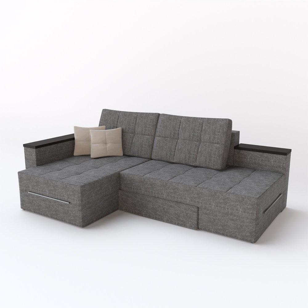 Liebenswert Sofa Mit Ottomane Und Schlaffunktion Beste Wahl Xxl Ecksofa 240 X 160 Cm Grau
