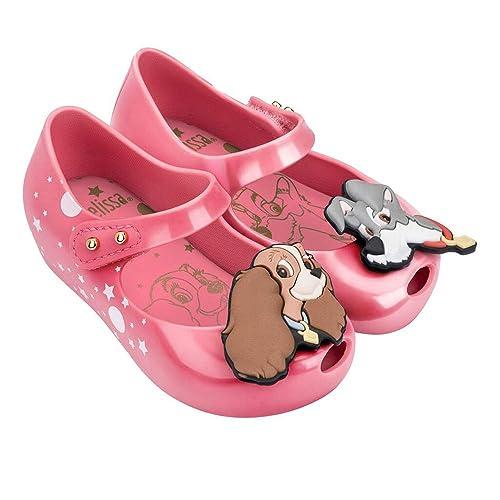 0503d5f097f9 Mini Melissa Girls Lady   The Tramp Shoes - Pink  Amazon.co.uk ...