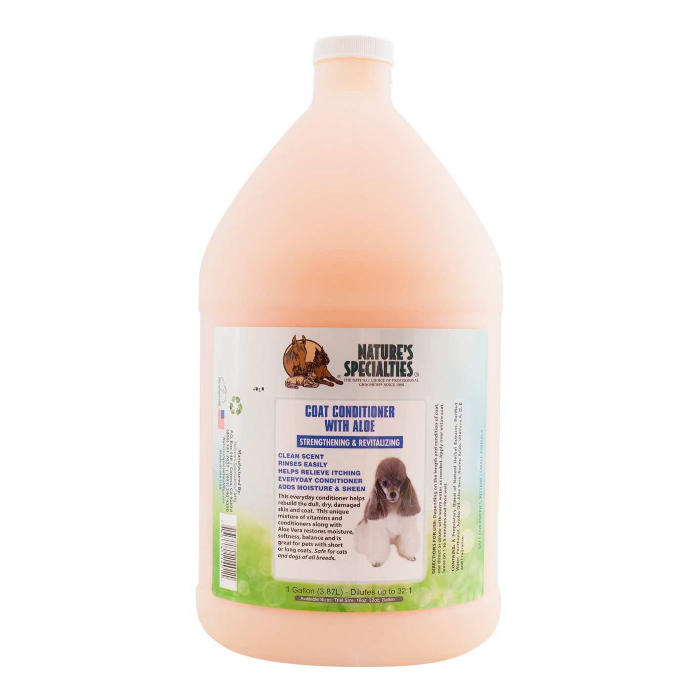 Nature's Specialties Coat Conditioner for Pets by Nature's Specialties Mfg