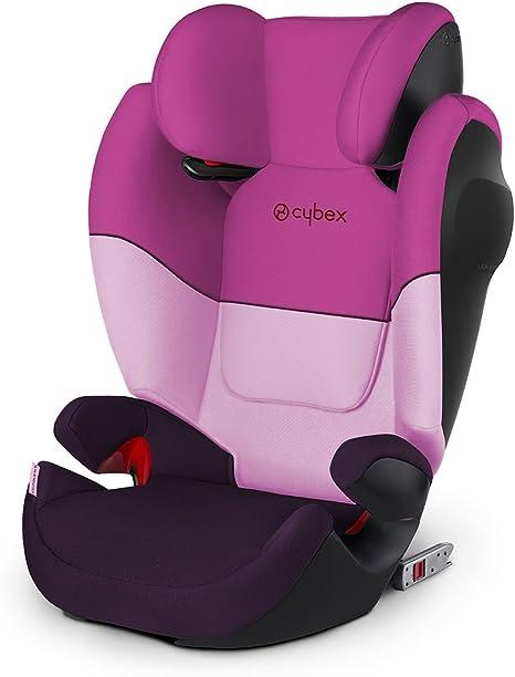 Purple Rain Cybex Silla de coche grupo 2//3 15-36 kg Grupo 2//3 Para coches con y sin Isofix Solution M-Fix SL Desde los 3 hasta los 12 a/ños Morado