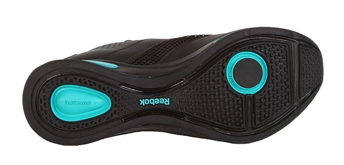 Reebok DMX Ride Studio Nova Mid Training Fitness Schuhe Freizeitschuhe Freizeit Sneakers Fitnessschuhe Aerobic für Damen Frauen Black Enamel Green