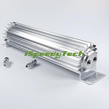 Doble Pass enfriadores de transmisión doble de aleación de disipador de calor de aluminio Cooler disipadores