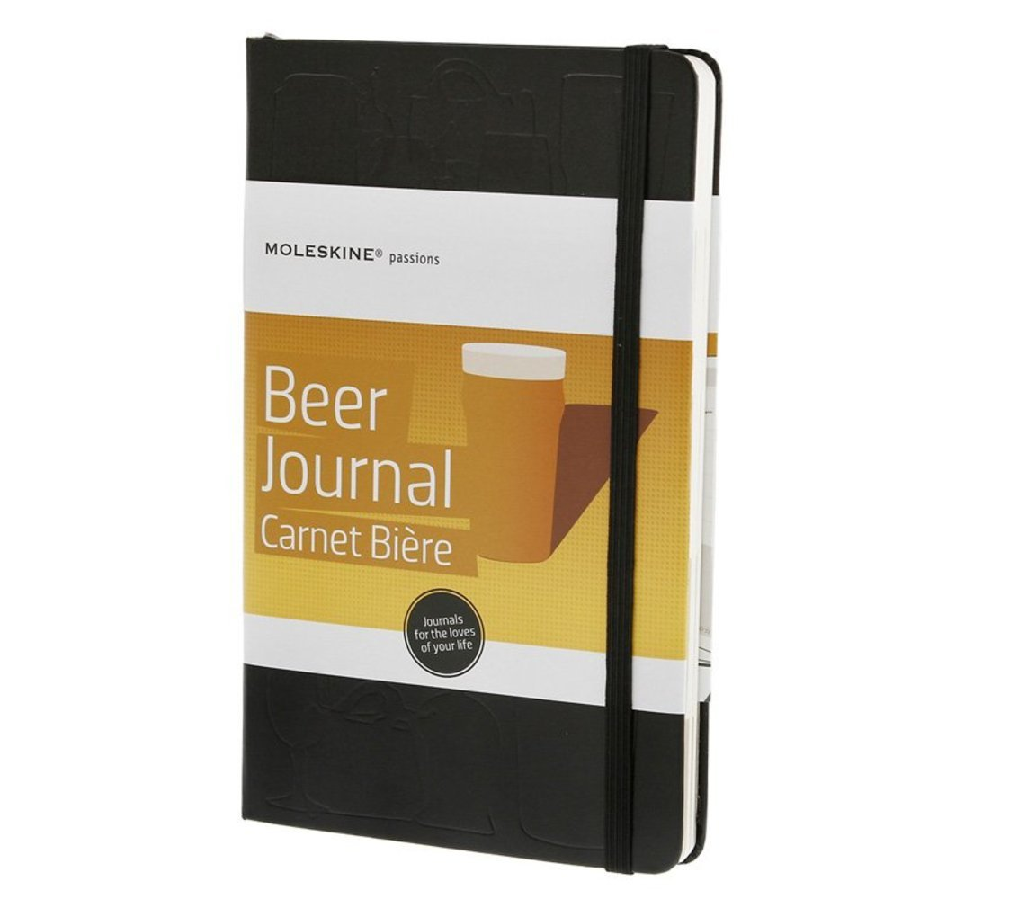 Amazon.com: Moleskine Passion Journal   Beer, Large, Hard Cover (5 X 8.25):  Moleskine: Office Products