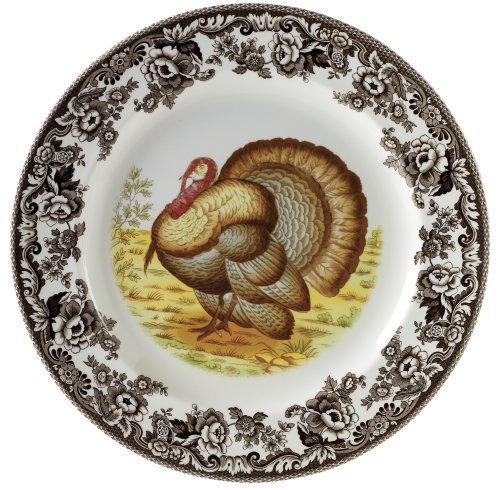 Spode Woodland Turkey Dinner Plate