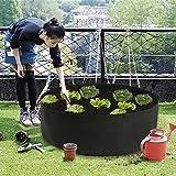 ASSR Fabric Raised Garden Bed, 50 Gallons Round