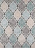 Cheap Momeni Rugs  Brooklyn Heights Collection Area Rug, 9'3″ x 12'6″, Multicolor