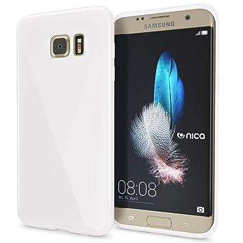 NALIA Funda Compatible con Samsung Galaxy S7 Edge, Ultra-Fina Gel Protectora Movil Carcasa Silicona Telefono Bumper, Ligera Goma Cubierta Jelly ...