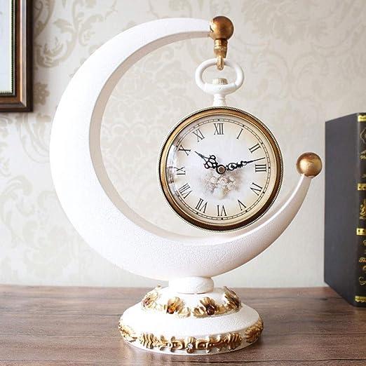 ZJP-dzsw Reloj de Mesa Personalidad Creativa Oficina Escritorio ...