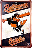 Baltimore Orioles Retro Sign 8 X 12