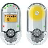 Motorola Baby MBP 16 , Digitales DECT-Babyphone , Audioüberwachung , Mit Nachtlicht und 2-Wege-Kommunikation