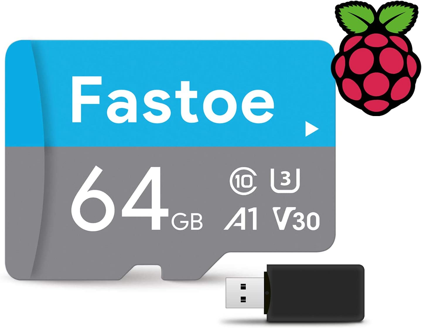 64GB Branded Micro SD Card with Attract Mode Retropie Image for Raspberry PI 3 3B and 3B+