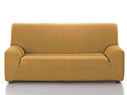 CAÑETE - Funda sofá JARA 3 plazas - Color Mostaza