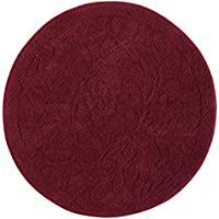 Mohawk Home Foliage Cabernet Round Accent Rug, 3x3
