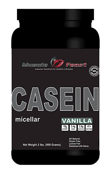 Muscle Feast Micellar Casein -2lbs (Unflavored)