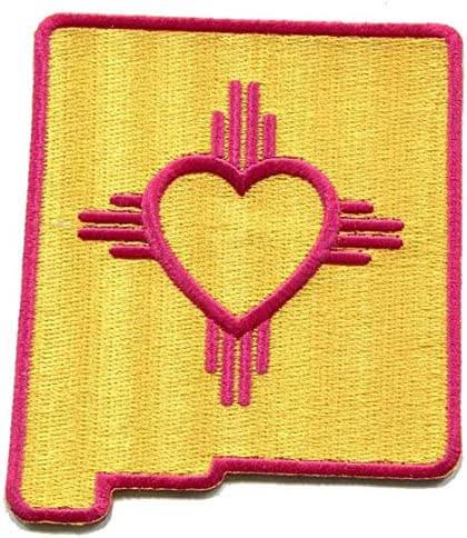 New Mexico Patch NM State Flag Iron on