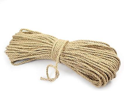 Cuerda de cáñamo natural Manila de 1 mm a 12 mm de ancho para ...