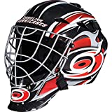 Franklin Sports Carolina Hurricanes Goalie Mask - Team Graphic Goalie Face Mask - GFM1500 Only for Ball & Street - NHL Official Licensed Product