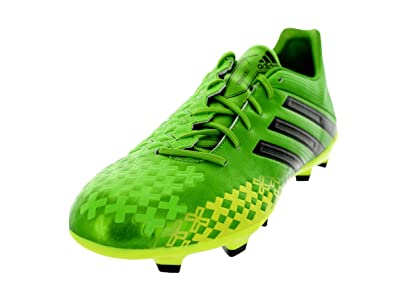 watch bf483 64a33 adidas Men s P Absolado TRXFG Q21656 Lime Yellow Black Soccer Cleats (Mens  Size 10.5,