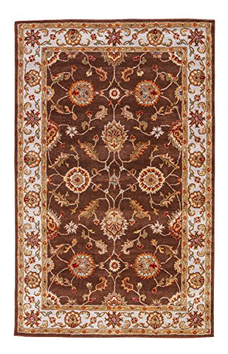 Jaipur Living Maia Hand-Tufted Oriental Brown Area Rug (2' X 3')