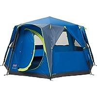 Coleman Octagon Blue Lime Tent, uniseks, voor volwassenen, meerkleurig, 8 personen