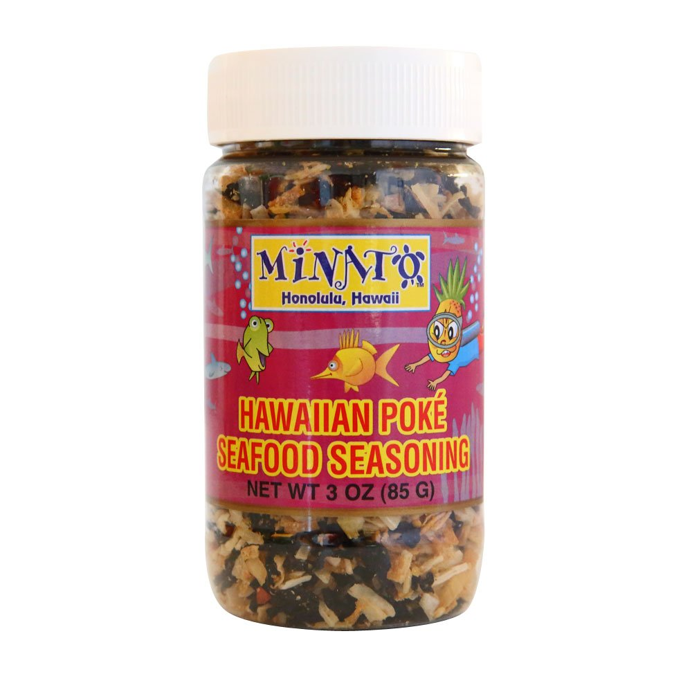 Hawaiian Poke Seafood Seasoning by Minato's Hawaii
