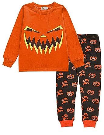 e0c5fc9e4d7d Little Hand Halloween Pyjamas for Boys Nightwear Cotton Toddler ...
