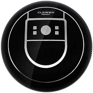 Vococal USB Recargable Inteligente electrónico Barrido Robot Aspirador barredor barredora Limpiador para el hogar Limpieza del Piso Negro: Amazon.es: Electrónica