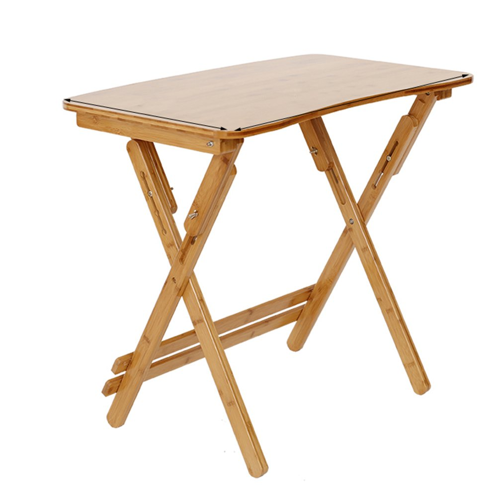 ZZHF 折りたたみテーブル/高さ調節可能/折りたたみ式デスク/ポータブルダイニングテーブル/コンピュータデスク デスク ( サイズ さいず : 70*40CM ) B07BFTCRJK70*40CM