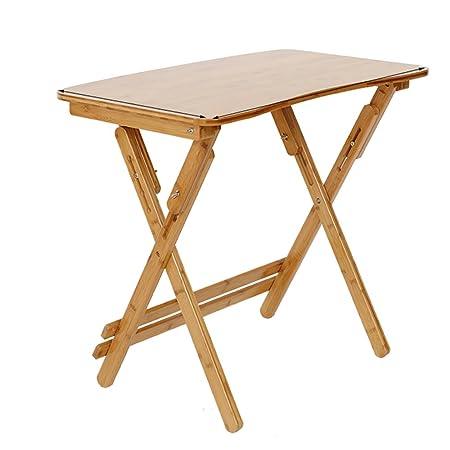 Mesa plegable ZZHF Escritorio Ajustable en Altura/Plegable/Mesa de ...