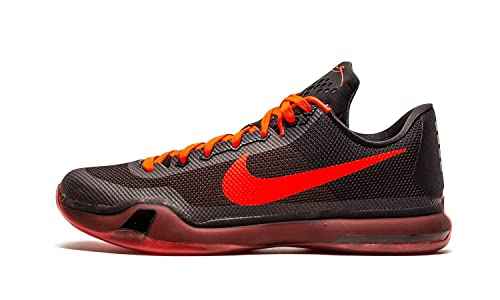 free shipping f8695 107a7 Image Unavailable. Image not available for. Color  Nike Kobe X 10  quot  Bright Crimson quot  Men s Sneakers Basketball Shoes-Black