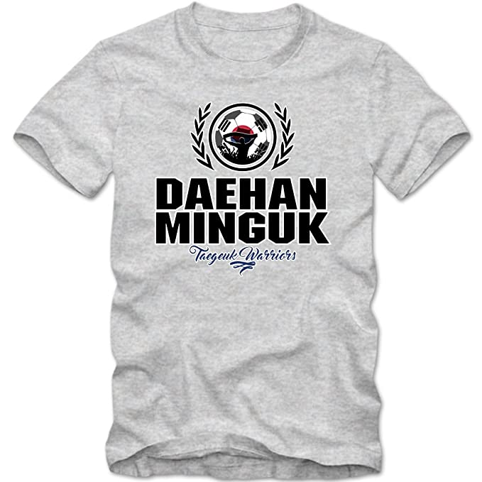 Shirt Happenz Fútbol Corea del Sur V2 Camiseta | Hombre | Fútbol | Taegeuk Warriors |
