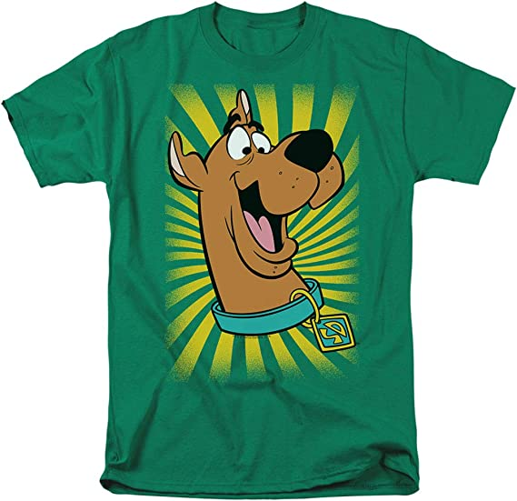 Scooby-Doo Burst Cartoon T Shirt & Stickers