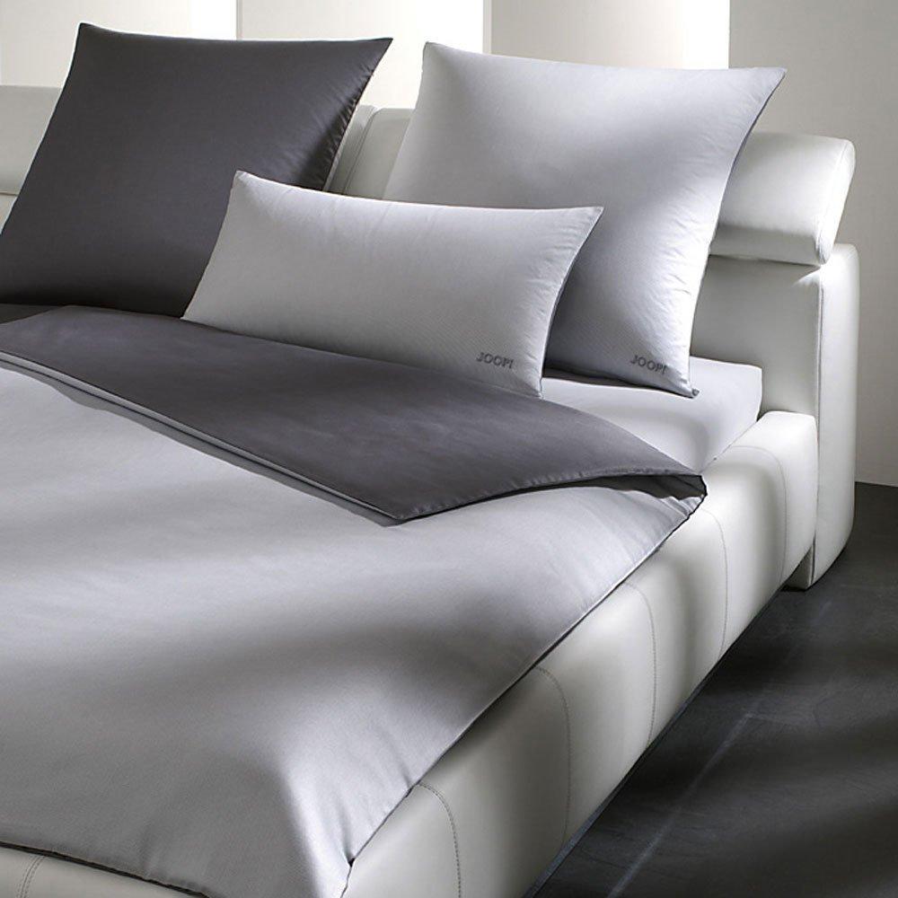 Joop  Bettwäsche Micro Pattern Silber 4040-9 Bettbezug einzeln 155x220 cm