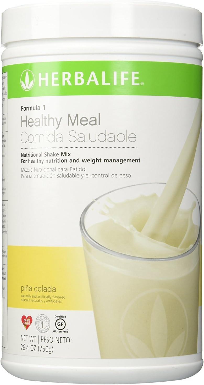 Herbalife fórmula 1 Shake – Piña Colada Canister 26,4 oz (750 G)