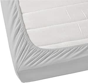 Jenny McLean La Via Fitted Sheet 100% Cotton Double 400TC Silver