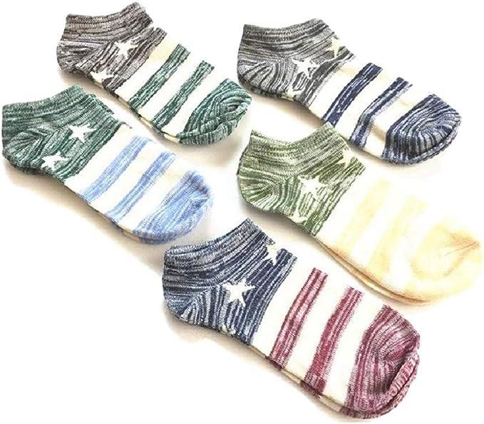 Bocotoer Pack de 5 calcetines unisex para mujer, para entrenamiento y casual: Amazon.es: Ropa y accesorios