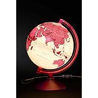 Gürbüz Yayınları 46251 Globe (Işıklı), Magenta, 26'lık