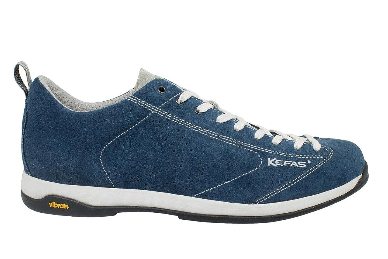 KEFAS - Zapatillas de ante para hombre, color Beige, talla 40.5