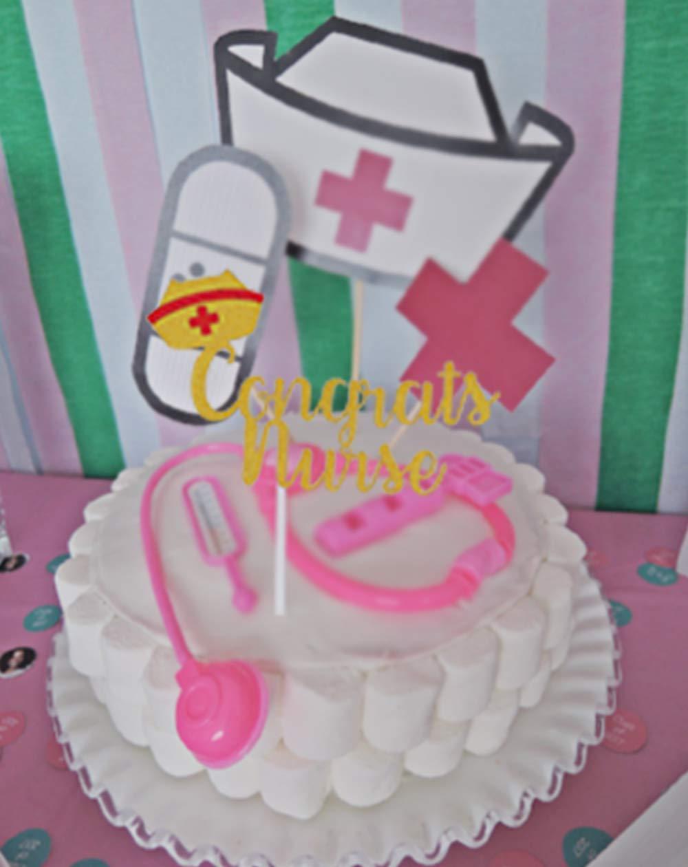 Topfun Congrats - Decoración para tartas de enfermería con ...
