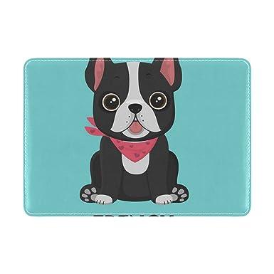 Amazon.com: Cooper niña amigo Bulldog Funda para pasaporte ...