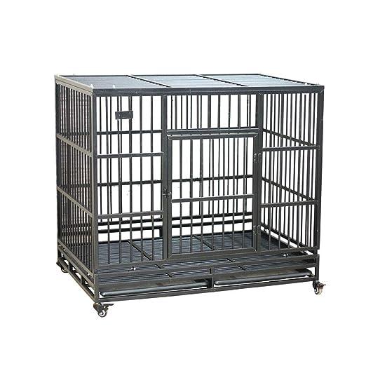 Jaula para Perros Plegable Perro Grande Suministros para Mascotas ...