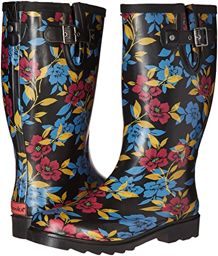 0425f5f471f4 durable service Chooka Women s Bohemian Night Rain Boot - bennigans ...