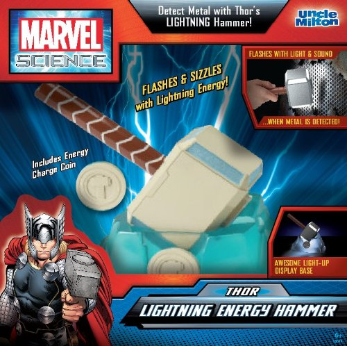 Uncle Milton Marvel Science, Thor Lightning Energy Hammer
