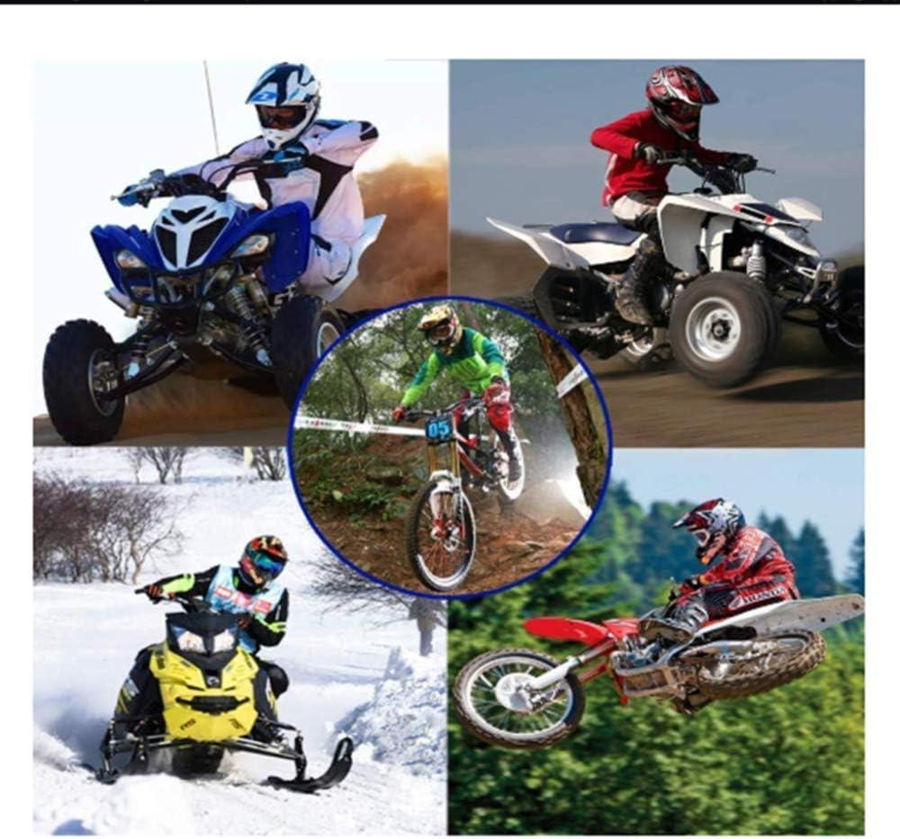JCLDG Kinder Crosshelm Motocross Helm Road Helm mit Handschuhe Maske Brille Schutzhelm Kinderhelm BMX MX Enduro Helm f/ür Adult und M/änner Damen 4 Season Motorradhelm Full Helm