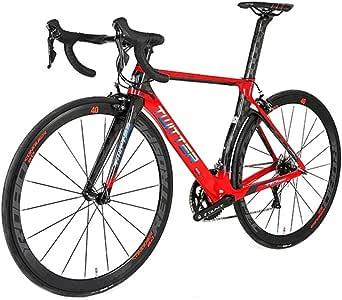 GUNAI Bicicleta de Carretera de Fibra de Carbono 8.5KG Ultraligera 700C Shimano R7000 22-Velocidad Sistema: Amazon.es: Deportes y aire libre